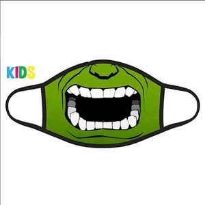 Other - Incredible Hulk Kids Face Mask